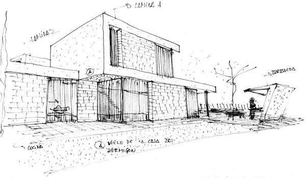 Arav 07 vivienda unifamiliar casa carbonell san antonio for Planos de carpinteria